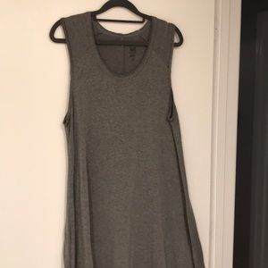Natural Life heather gray sleeveless T-shirt dress